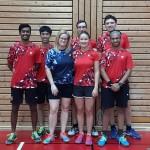 3. Mannschaft: Kumar, Thean, Simone, Sebastian, Jenny, Maiko, Adwait